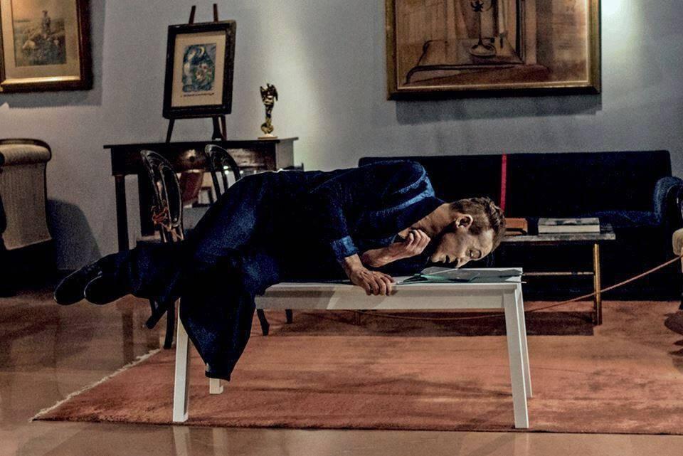 Αποτέλεσμα εικόνας για «Σοφία» του Ιγνάθιο Γκαρθία Μάι, με τον Φαίδωνα Καστρή & σε σκηνοθεσία Λεωνίδα Παπαδόπουλου