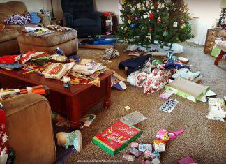 After Opening Presents