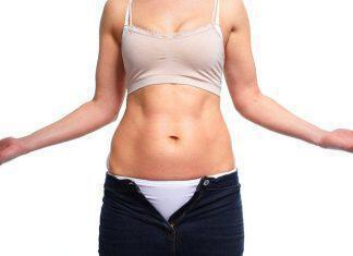 bigstock-Woman-fat-belly-Diet-and-weig-87841403